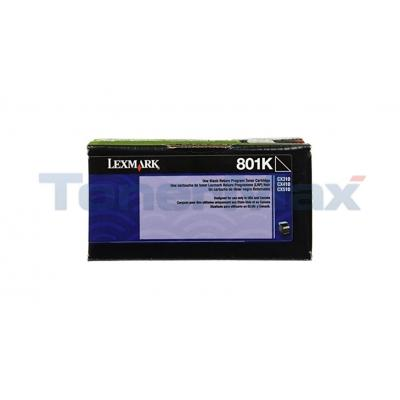LEXMARK CX510 TONER CARTRIDGE BLACK RP 1K